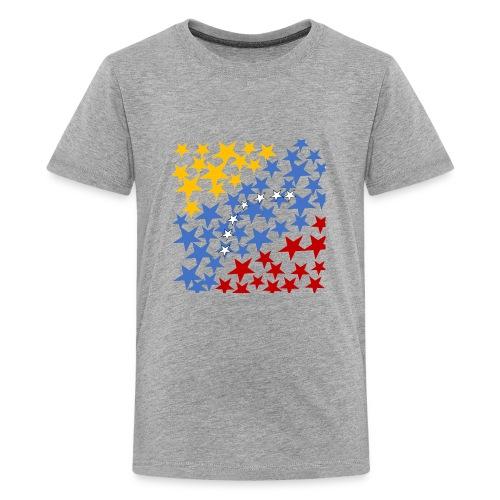 Venezuela´s Flag with stars - Kids' Premium T-Shirt