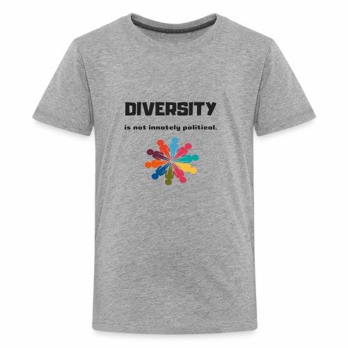 Diversity is not innately political - Kids' Premium T-Shirt