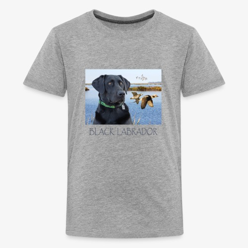 BLACK LABRADOR - Kids' Premium T-Shirt