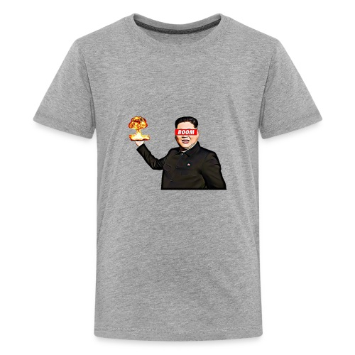 bomb man kim jong un - Kids' Premium T-Shirt
