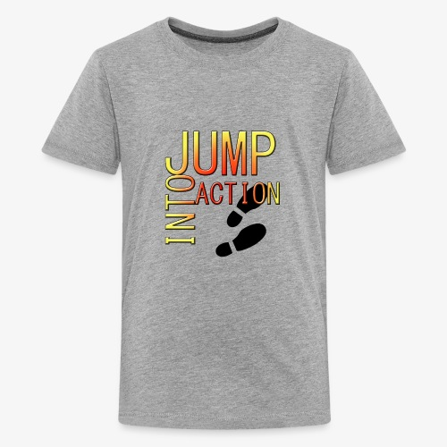 Jump into action - Kids' Premium T-Shirt