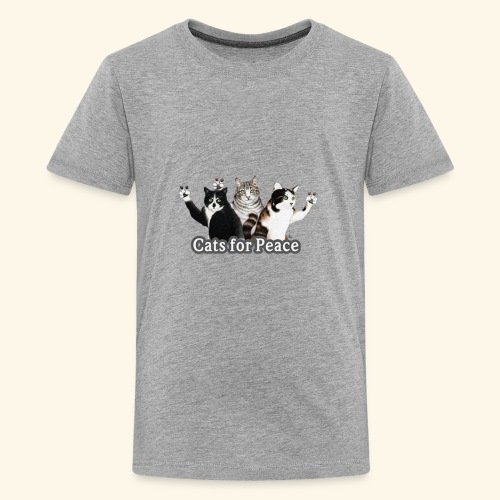 Cats for peace - Kids' Premium T-Shirt