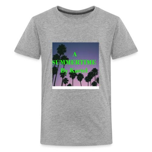 7F48B3F7 C695 4C62 85F9 42CBDC2FED0E - Kids' Premium T-Shirt