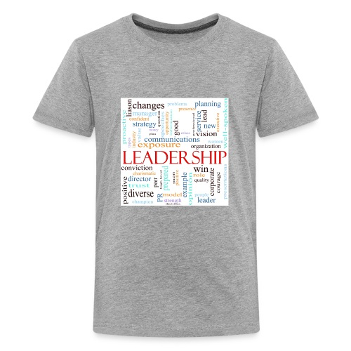 Leadership WORDLE - Kids' Premium T-Shirt