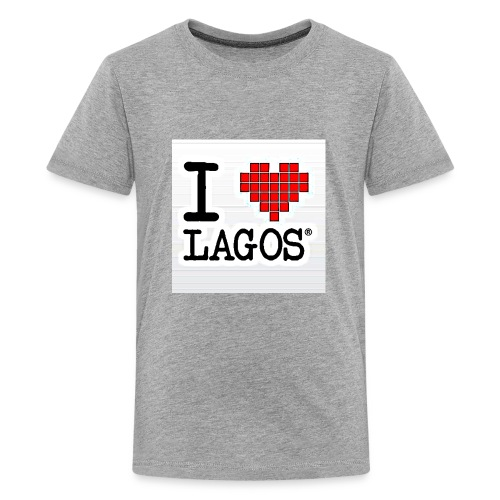 I LOVE LAGOS - Kids' Premium T-Shirt