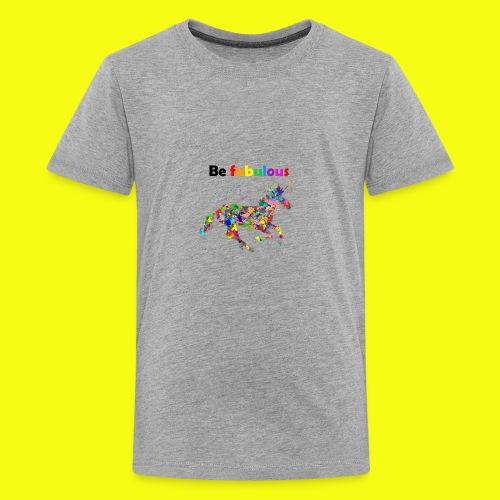 Fabulous colorful unicorn gift idea - Kids' Premium T-Shirt