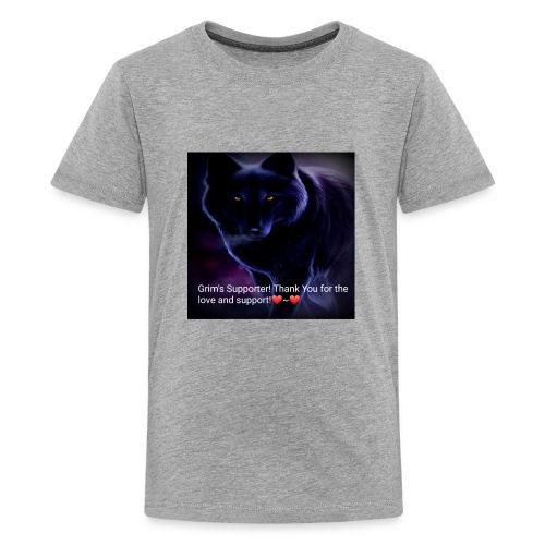 Grim's Supporter! ❤~❤ - Kids' Premium T-Shirt