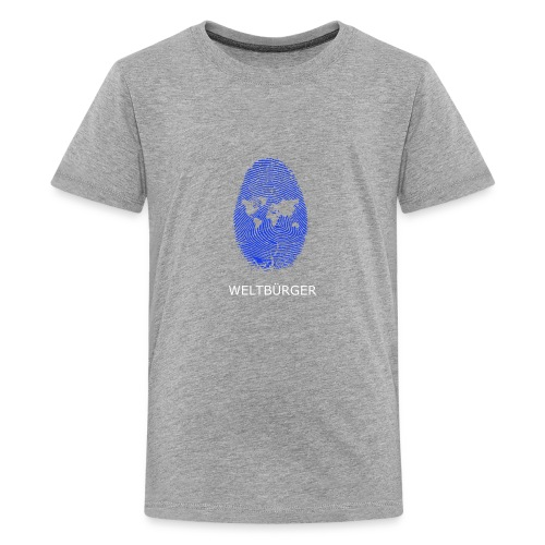 Fingerprint of the World - Kids' Premium T-Shirt
