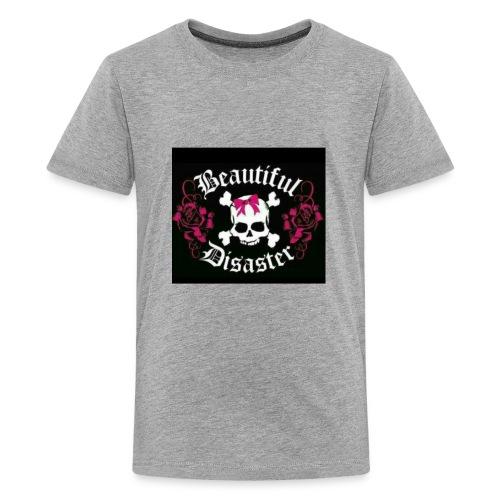 Beautiful Disaster - Kids' Premium T-Shirt