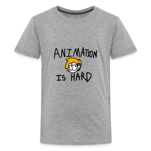 animation is hard - Kids' Premium T-Shirt
