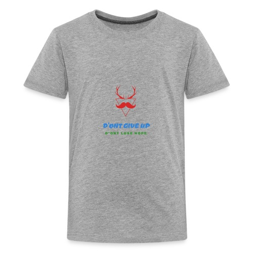 D'ont give up limites edition - Kids' Premium T-Shirt