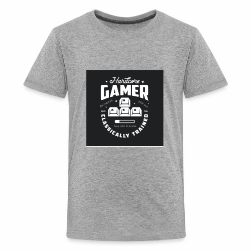 Hardcore Gamer Black - Kids' Premium T-Shirt