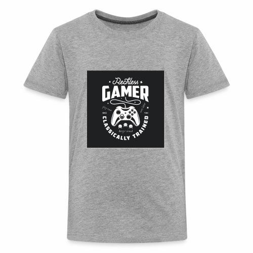 Reckless Gamer Black - Kids' Premium T-Shirt