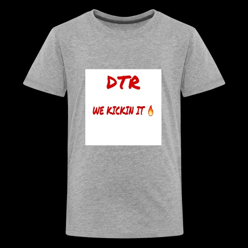 DTR KICKIN IT SHIRT 🔥 - Kids' Premium T-Shirt