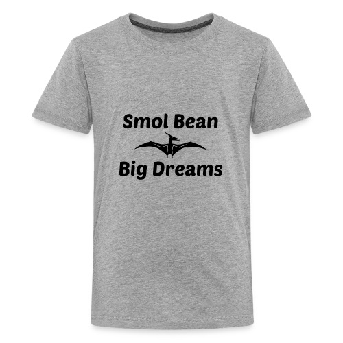 Tori Davis Smol Bean Big Dreams Black Merch Design - Kids' Premium T-Shirt