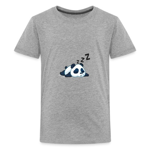 Funny sleeping panda - Kids' Premium T-Shirt