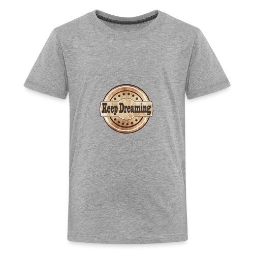 keep dreaming vintage - Kids' Premium T-Shirt