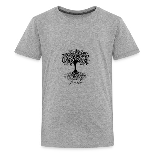 Family rooted tree - Kids' Premium T-Shirt