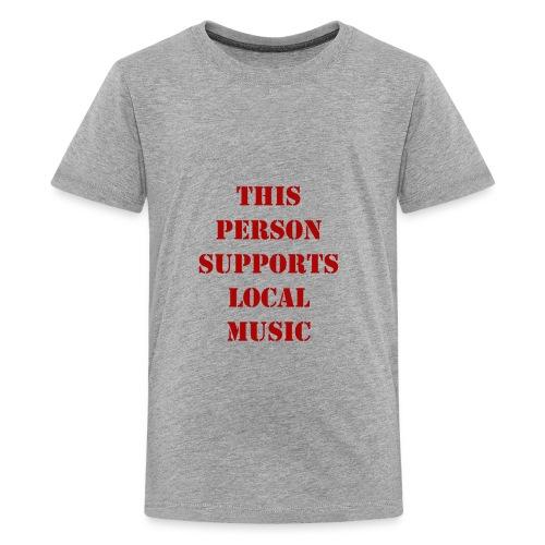 Support Local Music - Kids' Premium T-Shirt