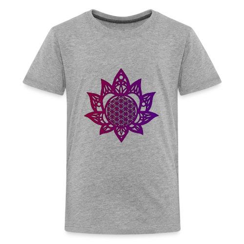 Flower of life beautiful - Kids' Premium T-Shirt