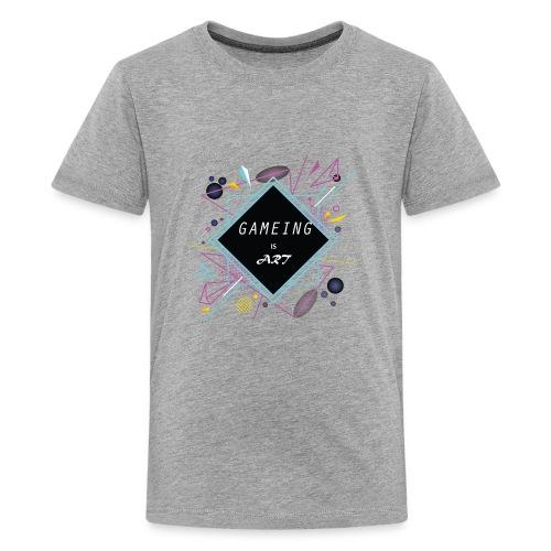 gameing is art - Kids' Premium T-Shirt