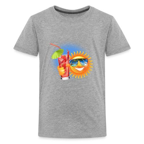 Summer Sun - Kids' Premium T-Shirt