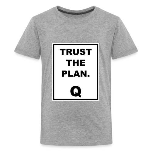 Trust The Plan Q - Kids' Premium T-Shirt