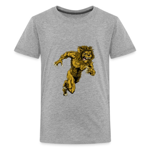The power of the lion - Kids' Premium T-Shirt