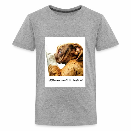 Whoever Smelt it, Dealt it - Kids' Premium T-Shirt