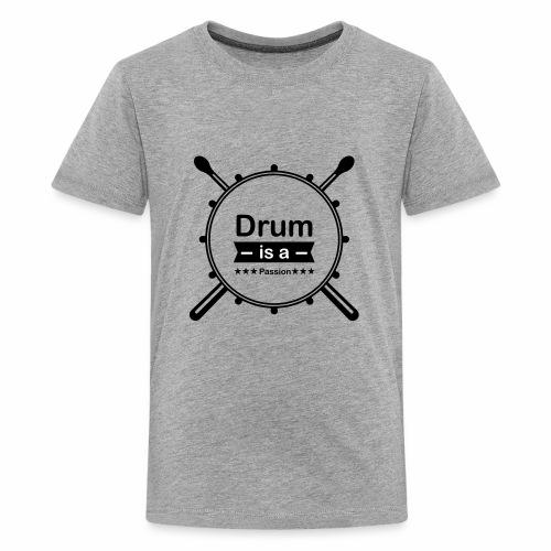 drum is passion - Kids' Premium T-Shirt