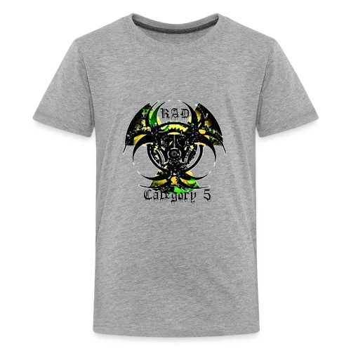 Green n Black logo - Kids' Premium T-Shirt