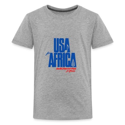 USA for africa merch - Kids' Premium T-Shirt