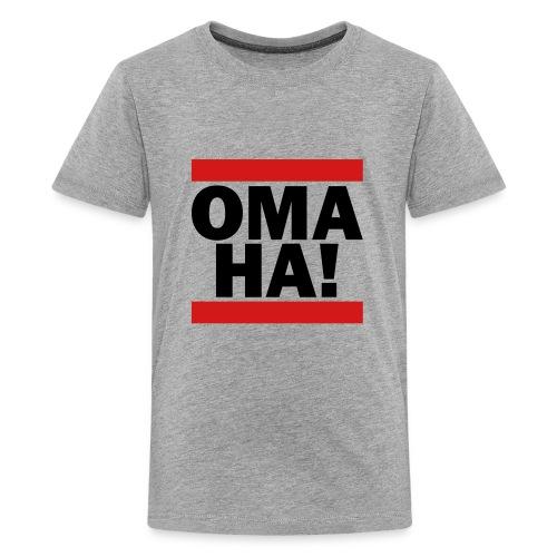 OMAHA Logo Shirt - Kids' Premium T-Shirt