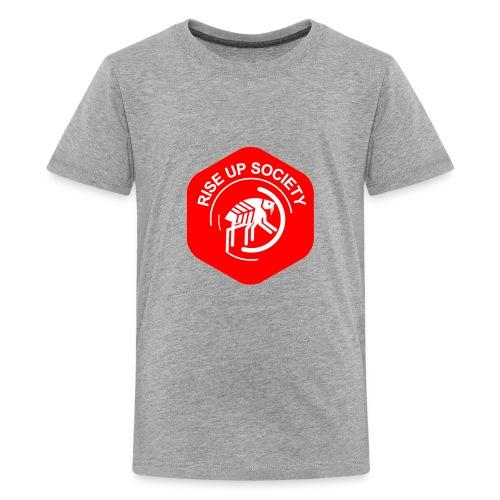 Rise Up Society Logo - Kids' Premium T-Shirt
