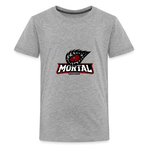 Mortal Esports Full Logo Design (Black) - Kids' Premium T-Shirt