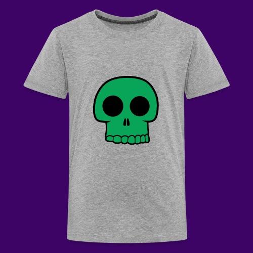 Green Skull - Kids' Premium T-Shirt