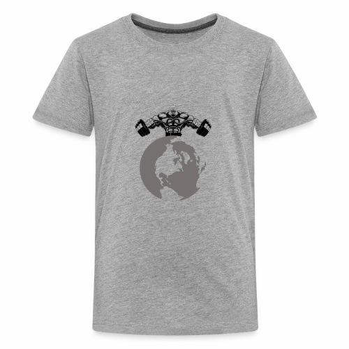 Muscle World - Kids' Premium T-Shirt