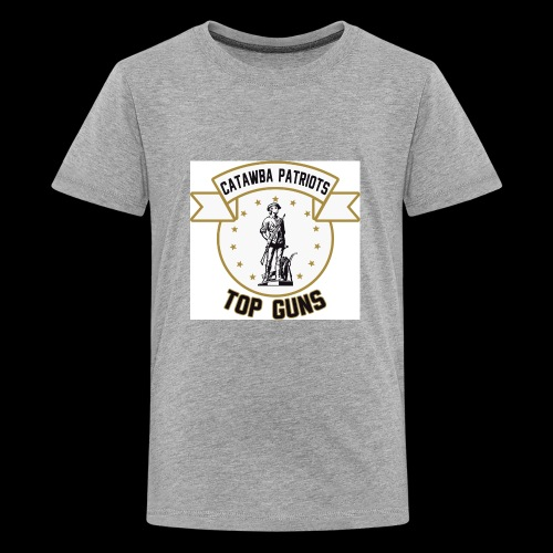 CatawbaPatriotsTopGuns - Kids' Premium T-Shirt
