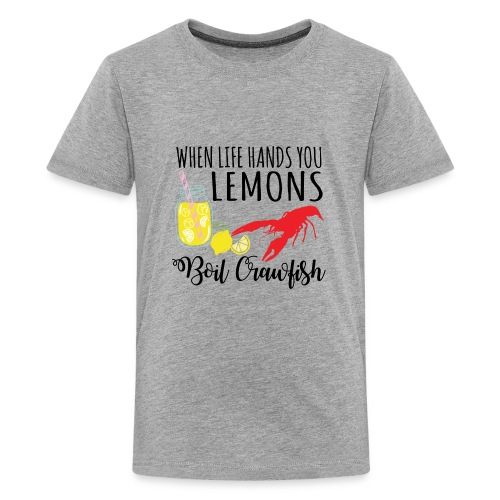 boil crawfish - Kids' Premium T-Shirt