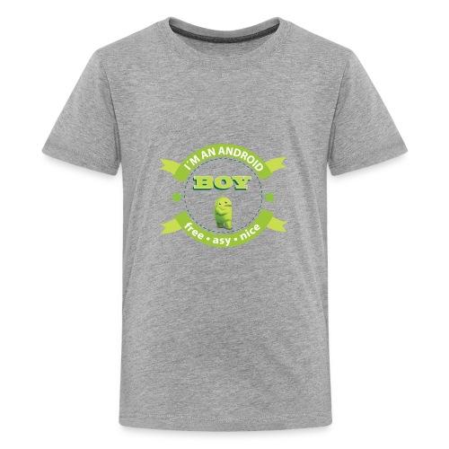 Android Man - Kids' Premium T-Shirt