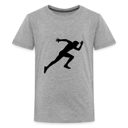 hurry up runner - Kids' Premium T-Shirt