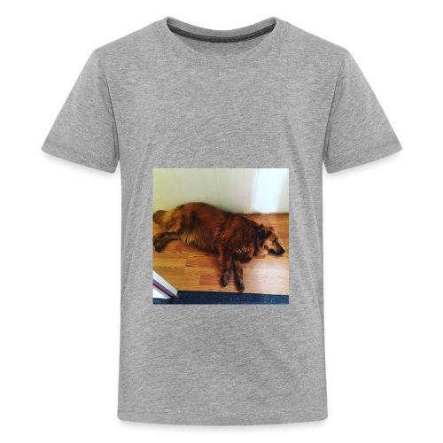 J gymnastics dog Minerva - Kids' Premium T-Shirt