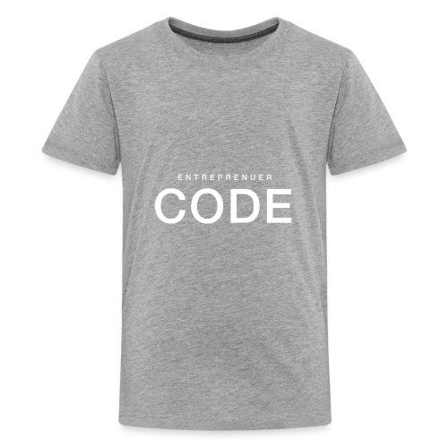 White Shirt PNG - Kids' Premium T-Shirt