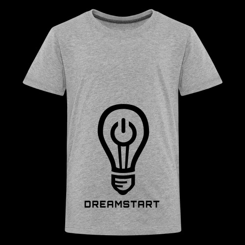 Dreamstart Logo (Black) - Kids' Premium T-Shirt