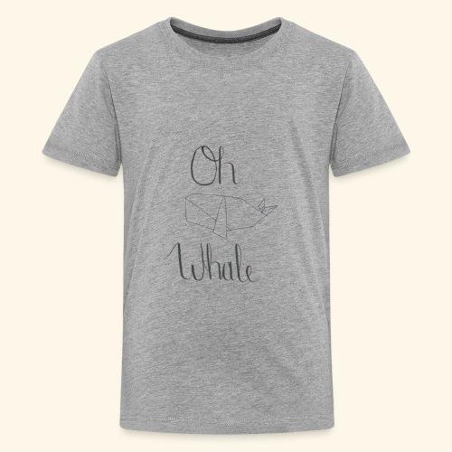 Oh whale - Kids' Premium T-Shirt