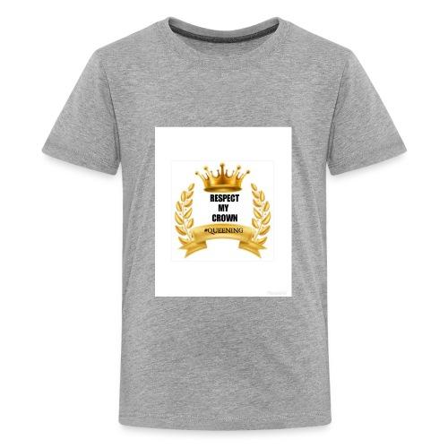 Respect my Crown - Kids' Premium T-Shirt