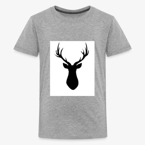 Rustic Antlers - Kids' Premium T-Shirt