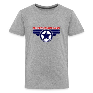 on your left - Kids' Premium T-Shirt
