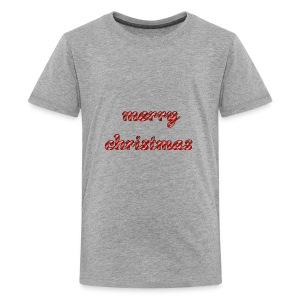 Cool Text merrychristmas 269671477455158 - Kids' Premium T-Shirt