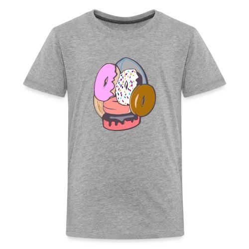 Doughnut Face - Kids' Premium T-Shirt